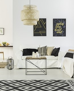 A cosy scandinavian-style living room - how can you achieve it?