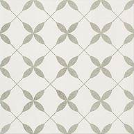 PATCHWORK CLOVER GREY PATTERN