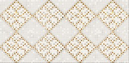 Art Mosaic Gold Inserto Squares