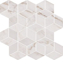 Carrara Mosaic White