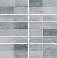 Floorwood Grey-Graphite Mix Mosaic