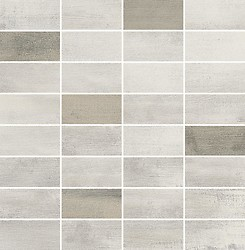 Floorwood White-Beige Mix Mosaic